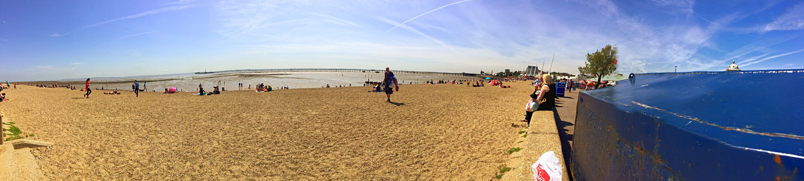 Southend Beach Beach May Hot Weather Southend On Sea
