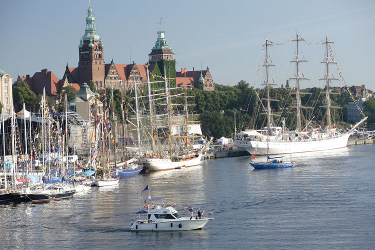 Harbor Odra Poland Segeln Szczecin Tall Ship Boat Day Mast Mode Of Transport Moored Nautical Vessel Polen River Sailing Boat Ship Stettin Transportation Water Yacht