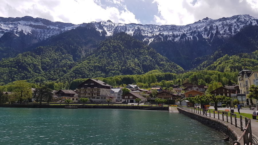By the lakeside... Swiss Alps Tranquility Lake Water Travel Swiss Switzerland Travel Destinations EyeEm Best Shots EyeEm Nature Lover Mountain Sky Cloud - Sky Landscape Snowcapped Mountain Scenics Mountain Range Idyllic The Traveler - 2018 EyeEm Awards The Great Outdoors - 2018 EyeEm Awards
