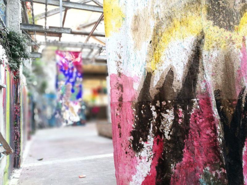 Maam Roma Contemporary Art Prenestina Metropoliz Multi Colored Outdoors