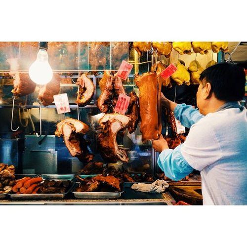 Roast meats, Hung Hom, Hong Kong. Travel Travelphotography Vscocam Ricohgr foodporn hongkong latergram