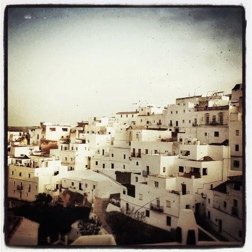 Vistas de Vejer de la Frontera desde La Casa del Califa. Vejer Pueblos Blancos Vejerfocus 2013