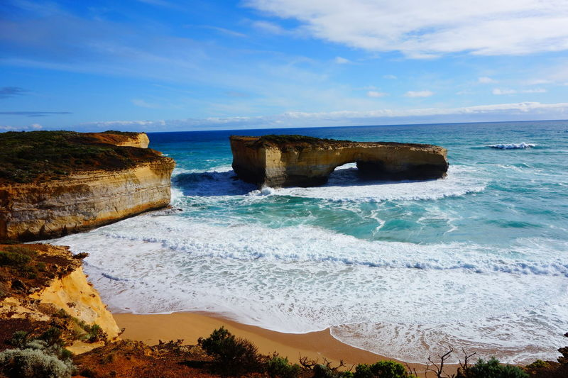 Adventure Beauty In Nature Cloud Greatoceanroad Outdoor Photography Scenics Shore Tranquility Water