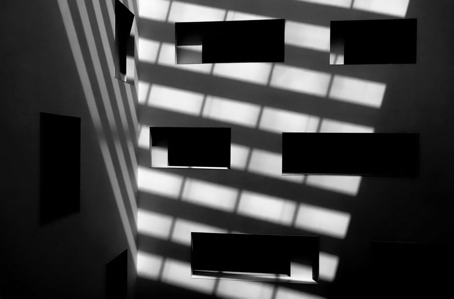When light and shadow collide Architects Architecture Architecture Barcelona Black And White Carlos Ferrater Contrasts Design Entrance Hall Hotel Indoors  Joan Trias De Bes Mandarin Oriental Mandarin Oriental Barcelona Minimalism Minimalist Architecture Monochrome No People Passeig De Gràcia Patricia Urquiola Reduction Shadow And Light SPAIN Travel Destinations The Graphic City
