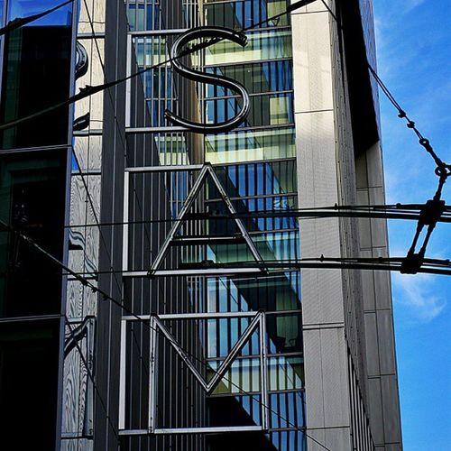 Sam Art Seattle Museum sign artmuseum building city cities pnw washington architecture