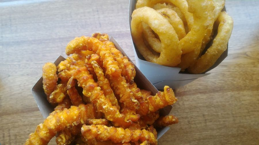 Yam Fries Sweet Potato Fries Fries Food Ready-to-eat Unhealthy Eating Deep Fried  Fast Food Fried Onion Rings Side Dish With Burger Snack Bites Yammy