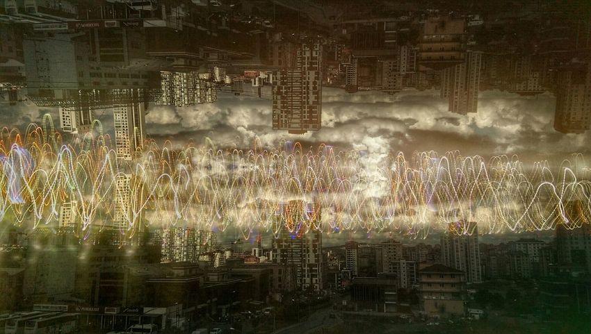 Istanbul ümraniye Istanbul City Karanlık Kaos Chaos Binalar Bulutlar Gokyuzu ışıklar Istanbuldayasam