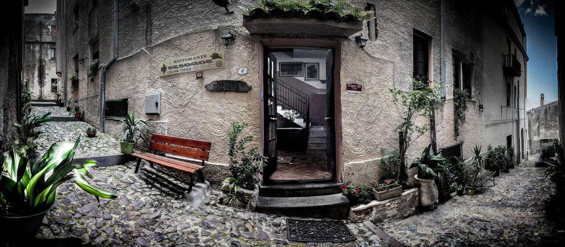 Desogos Architecture Building Exterior Built Structure Footpath House Italy Restaurants Sardinia Sardegna Italy