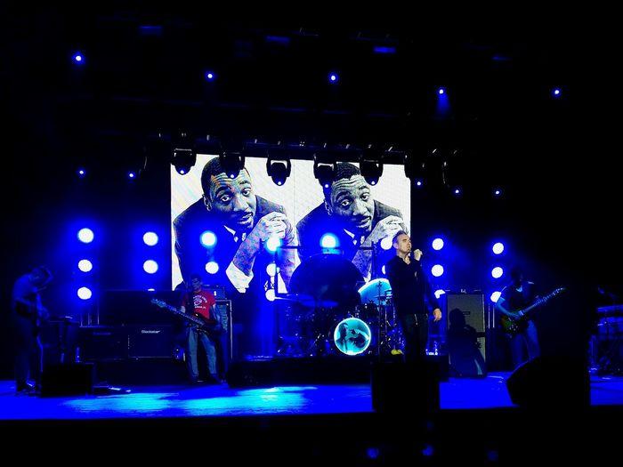 On stage (En escena) Taking Photos Concert Morrissey Morrisseylive Samsung Smartphone EyeEm Best Shots My Smartphone Life Photography Eye4photography  Photoshoot Photo 12daysofeyeem EyeEm Live In Concert Concert Photography