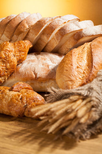 Close-up of food in basket