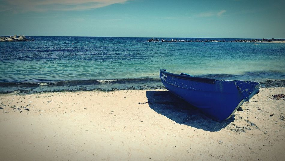 Beach Boats Summer Sunny Sea Sea And Sky Seaside Seascape Vitamin Sea Love The Beach Love Summer Colour Of Life Vintage Boat Blue Sand Shades Of Blue Nature Beach And Waves Showcase July Clear Sky Clear Water White And Blue OO Mission Freedom On The Way Live For The Story