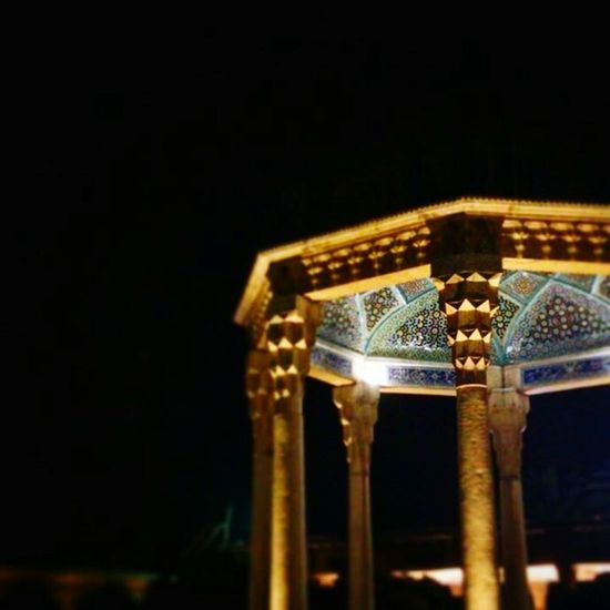 At the daybreak there was an uproar from the empyrean, as if supernals learning poems of 'Hafiz' by Heart. (Hafiz) Hafiz Hafiz Tomb. Shiraz. Iran Poet Enjoying Life Shiraz, Iran Shiraz🍷 Shirazlovers Architecture Architecture_collection Ornament Ornamental Night City