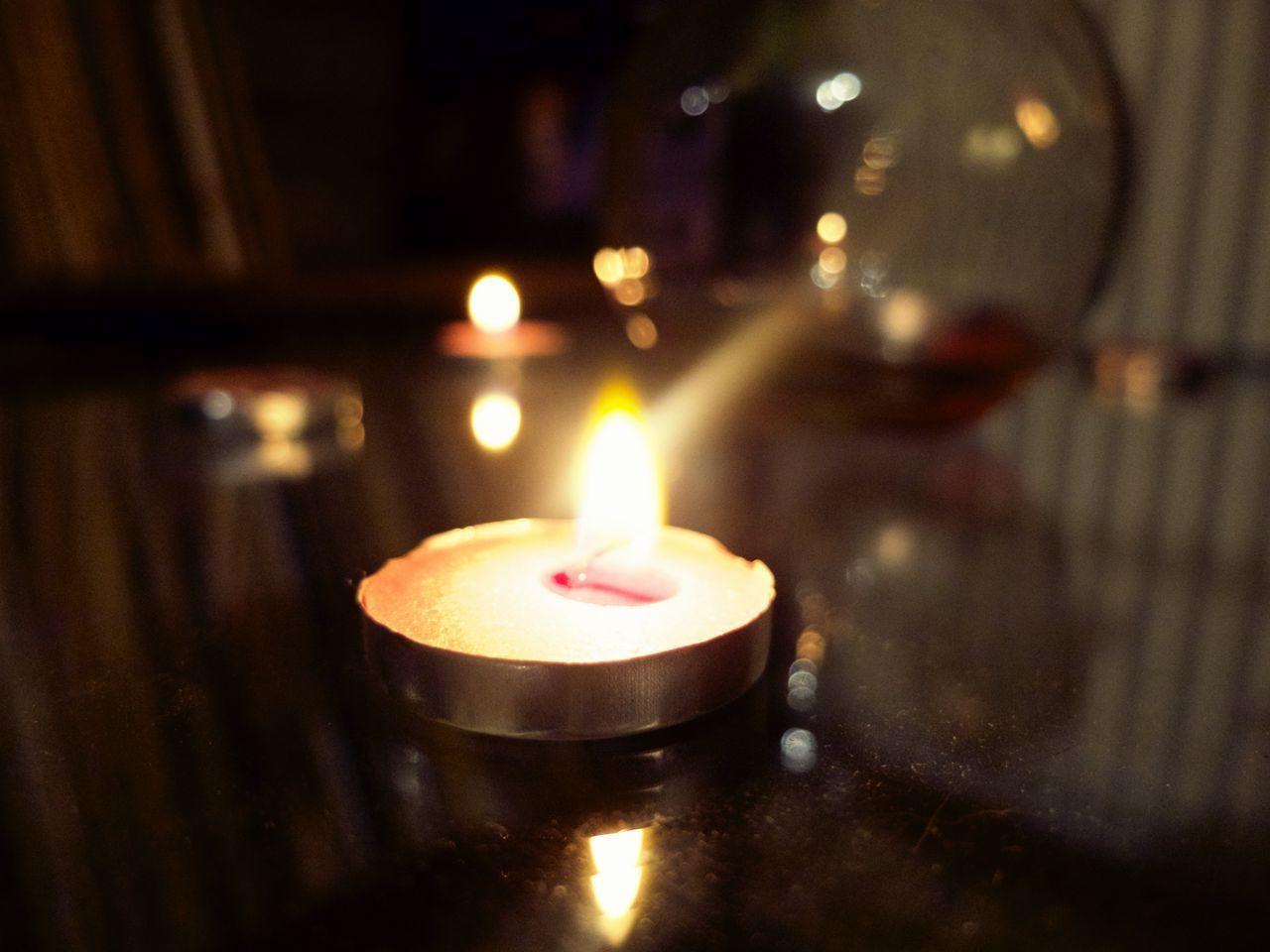 flame, candle, burning, tea light, indoors, heat - temperature, illuminated, no people, focus on foreground, close-up, night, diya - oil lamp