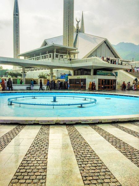 I visited Faisal Mosque, the most beautiful mosque in Pakistan. Taking Photos Landscape Hello World Cheese! You Raise Me Up✨ This Week On Eyeem We Are Photography, We Are EyeEm Popular In Front Of That's Me Hanging Out New Talents Check This Out Memories Weekend Activities Arround You Outdoors Traveling Relaxing Famous Place Enjoying Life Hi!