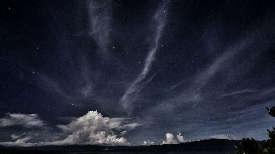 Night Night Sky Summer Cuarto Islas Inopacan Leyte Nature Long Exposure Sky Stars Beach Island Island Life Clouds Low Angle View As I See The World Travel