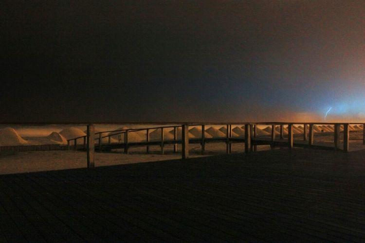 Furadouro Thunderstorm Portugal Beach
