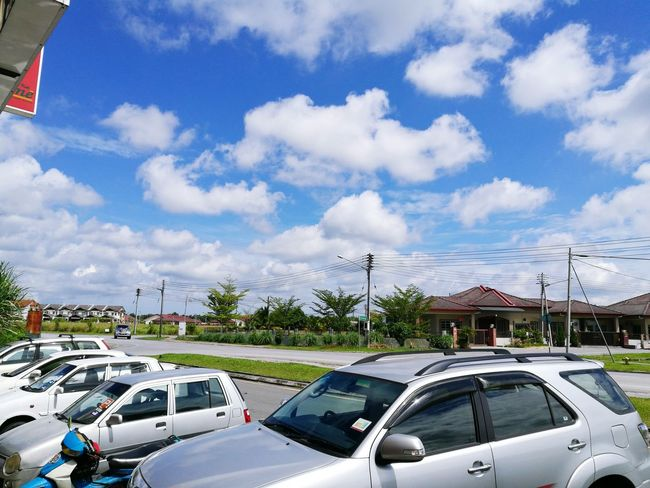 A peaceful morning at Sejingkat, Demak Laut Cloud - Sky Outdoors Sky Day