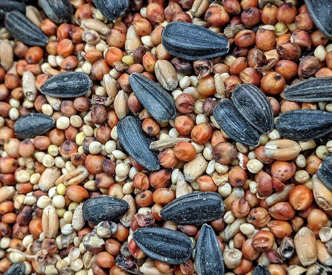 Full frame shot of seeds