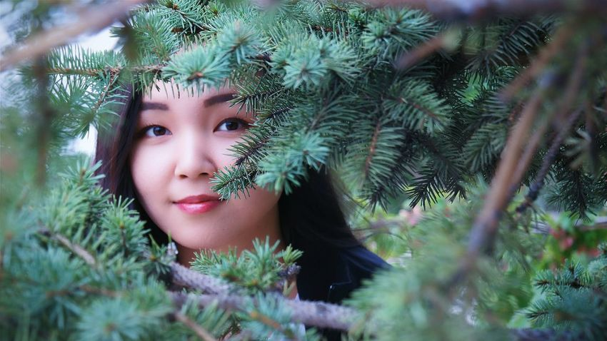 Another portrait 😊 Taking Photos Portrait Photography Photography Beauty In Nature Green Trees Beauty Photography  Model Photography Eyeem Photography EyeEm Gallery Kazakhstan Astana Artistic Composition New Method Something Different