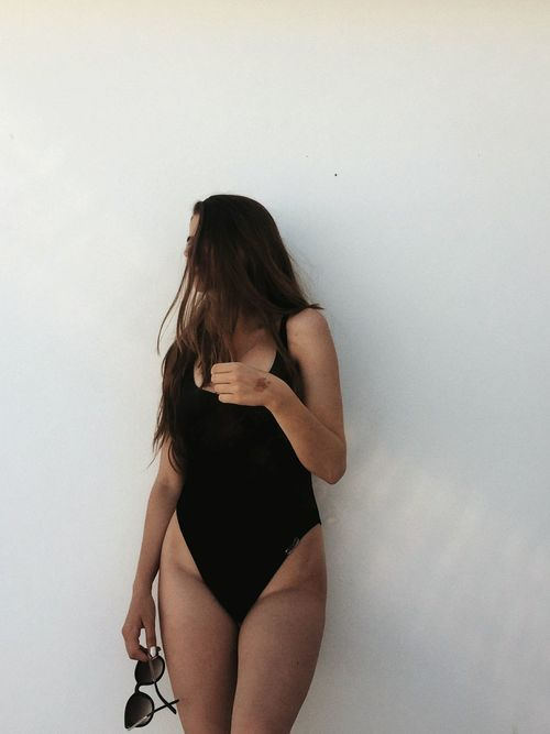 Three Quarter Length Only Women Adults Only One Woman Only Young Adult Adult People One Person One Young Woman Only Indoors  Young Women Day Swimsuit Swiming Sunglasses VSCO Vacations Full Frame Shadow Silhouette Close-up Girl Body Curves  Bodyshot Hair Be. Ready.