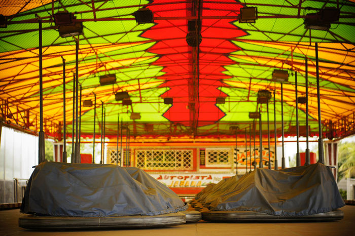 Bumpin Colorful Cultures Day Empty Places Funfair No People Outdoors Street Photography