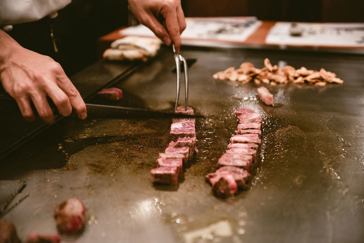 Kobe beef and its sides, complementrary to its taste Japanese Food The Still Life Photographer - 2018 EyeEm Awards Food Gril