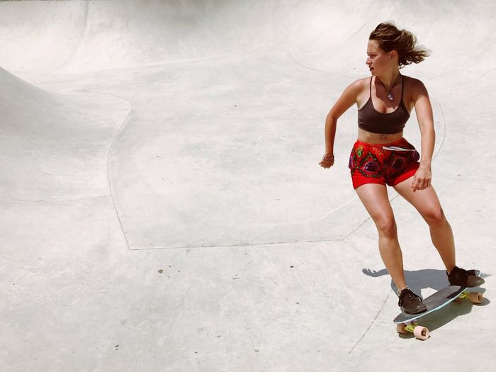 Full Length Leisure Activity One Person Young Adult Vitality Lifestyles The Street Photographer - 2017 EyeEm Awards Young Women Exercising Outdoors Sports Clothing Skateboard Park Only Women Adult Athlete Skateboarding מייחיפה מייסטריט מייסקייט Shotoniphone7plus מייאייפון7 IPhone7Plus Skatepark Live For The Story BYOPaper!