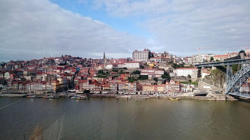 City No People Outdoors Bridge - Man Made Structure Water Porto, Portugal House Facade EyEmNewHere