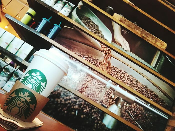 Starbucks Costa Rica Close-up Indoors  Store Coffee Production Coffee Shop Photos Afternoon Tea Photigraphylover