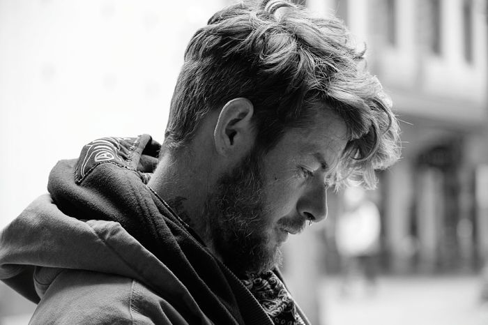 Homeless Man, Homeless Awareness The Street Photographer - 2016 EyeEm Awards Black And White Friday