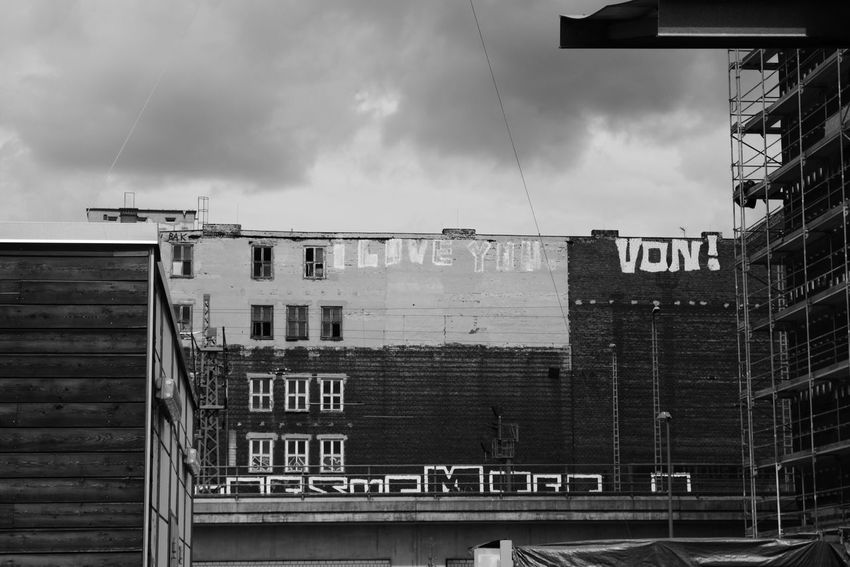 Capture Berlin Building Exterior Architecture Built Structure Outdoors Sky No People Day Cloud - Sky City Text