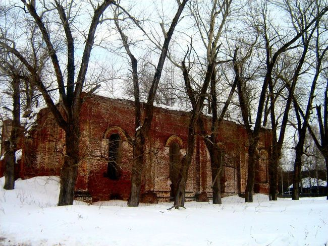 Church Ruins Russia россия Ural Region Day Nature No People Winter
