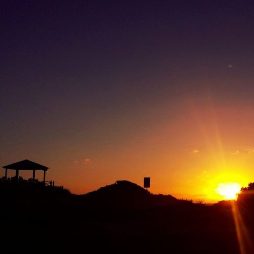 Another Amazing Sunset in Geraldton Western Australia Beach Sand Hut Beautiful Colour Paradise Nofilter Pure