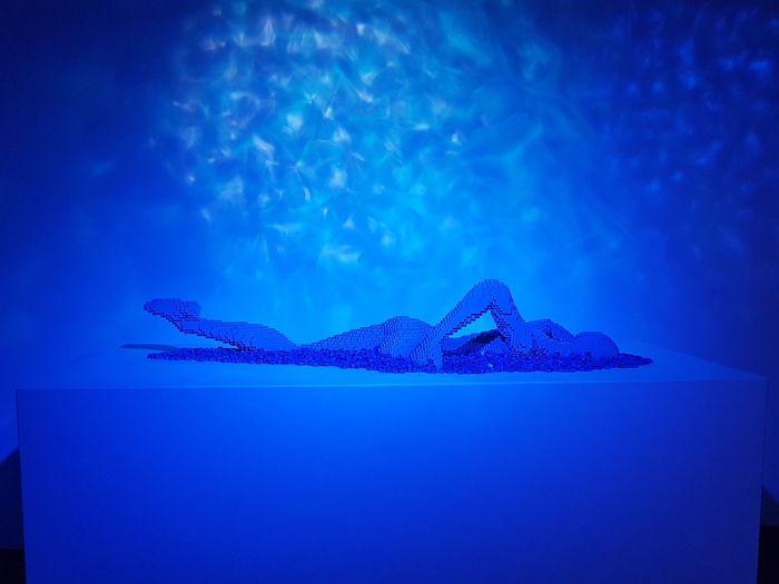 Underwater Blue Sea No People Water Indoors  EyeEmNewHere LEGO Legostagram Legophotography Nathan Sawaya TheArtoftheBrick