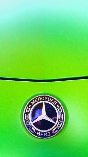 Mercedes-Benz G-classe GTR Motors Backgrounds Full Frame Fashion Close-up Green Color
