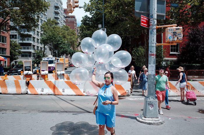 New York City Washington Square Park Travel Travel Photography Candid Balloon Walking EyeEmNewHere