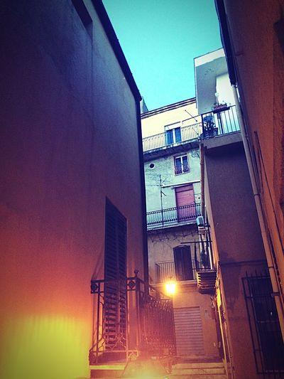 Ancient Town Centrostorico Evening Agrigento Lights First Eyeem Photo