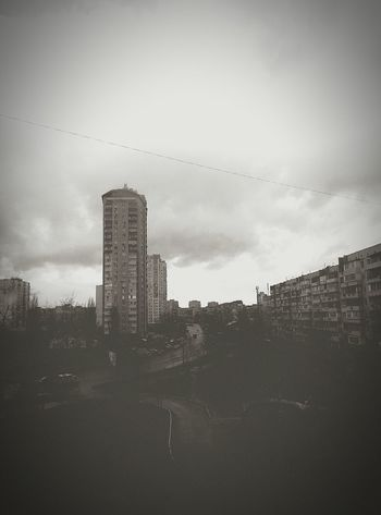 First Eyeem Photo Kiev Clouds And Sky Clouds Tonning Ukraine Building