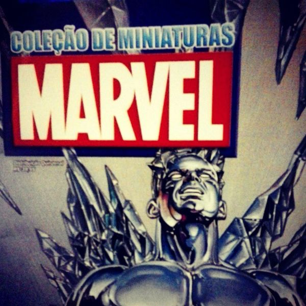 Coleção Marvel Miniatura Art Hq ICEMAN  Comics Happy Geek Boneco Estatua Actionfiguren Nerd