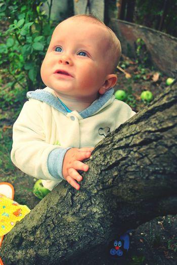 Мой любимый сынок Baby First Eyeem Photo