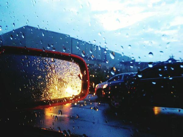 Rainy Days Raindrops On My Window Cars Mondayblues Philippines Manila MyPhotography