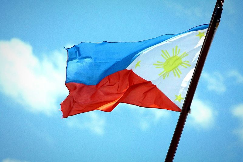I am a Filipino 😊 Philippines Flag Blueandred First Eyeem Photo