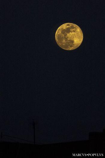 Título: Aprilis luna. Autor: Marcus Populus. Lugar: Moncloa, Madrid. Cámara: Lumix DMC-TZ60 Punto F: f/6.4 Tiempo de exposición: 1/800s Velocidad ISO: 3200 Distancia focal: 129mm Astronomy Full Moon Moon Moon Surface Nature Night No People Planetary Moon Scenics Sky Space Tranquil Scene Tranquility