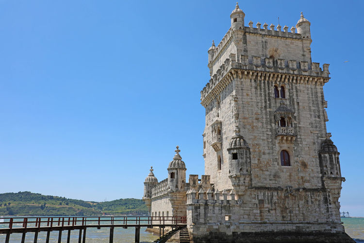 Belem Tower, Lisbon, Portugal Architecture Built Structure Water Sky Building Exterior Nature Tourism Travel Destinations History Day The Past Belém Lisbon Portugal Belém, Lisboa Belem Tower Belem Tower,Lisboa, Portugal Europe European  Lisbon City Life Portugal 🇵🇹 Portugal ☆ Belem Portugal Seascape