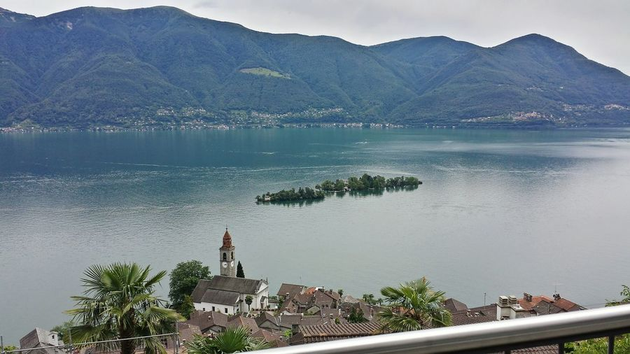 Isole Di Brissago Vista Dall'alto View Vista View Sommergefühle SamsungJ5