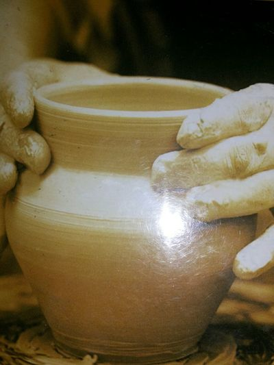 He Is The Potter And We Are The Clay In His Hands