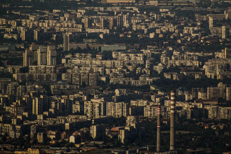 City City View  Sofia, Bulgaria Sofia Djungla Jungle City Jungle View View From Above