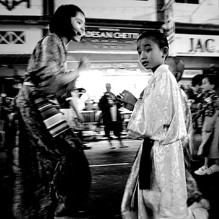 B&W Portrait ASIA Buddhists celebrate Vesak Day with a parade in Melaka The Moment - 2015 EyeEm Awards
