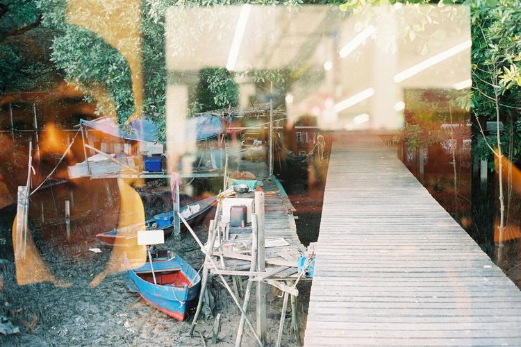 Cut And Paste Window Indoors  Day Outdoors Rural Scene Textured  Nature Best Of EyeEm Lifestyles Shot On Film Reflections Life Vacations Art Is Everywhere Doubleexposure TCPM EyeEmNewHere Feeling Boat Bestoftheday Filmisnotdead Building Exterior Eyemphotography Filmcamera Break The Mold The Great Outdoors - 2017 EyeEm Awards Place Of Heart