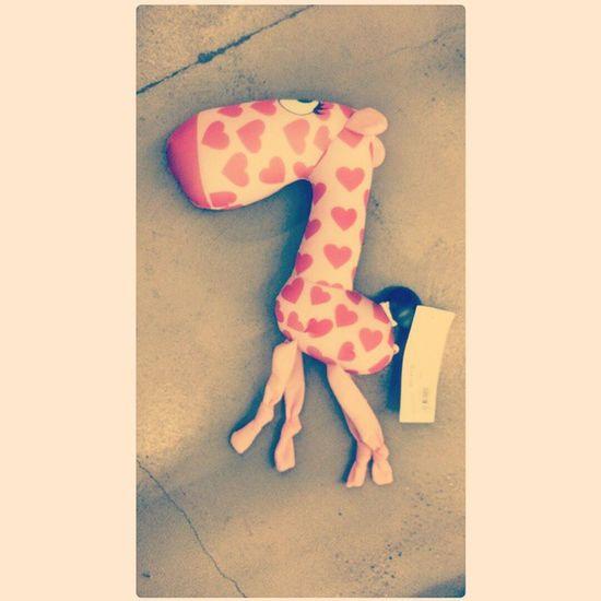 жирафик жираф сердечко игрушка heard